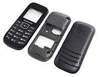 """Корпус """"ААА"""" с клавиатурой Samsung E1202 (черный)"""
