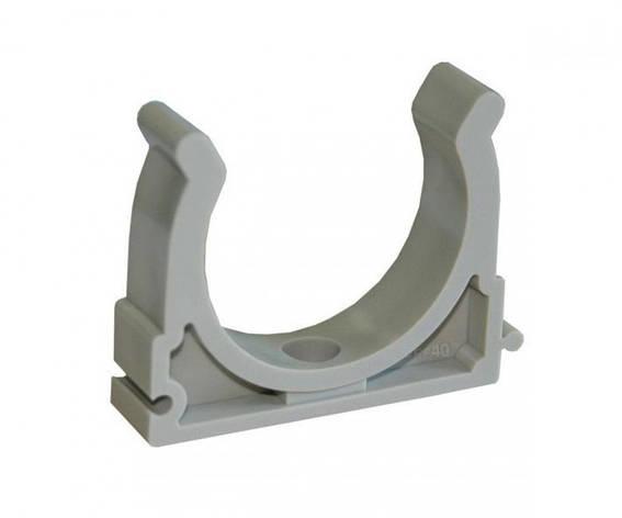 Крепеж 40-42  PP-grey BerkePlastic, фото 2