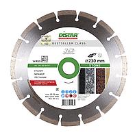Круг алмазный отрезной DISTAR 1A1RSS/C3-H 230x2,6/1,8x10x22,23-16 Stone для болгарки сегментный по бетону