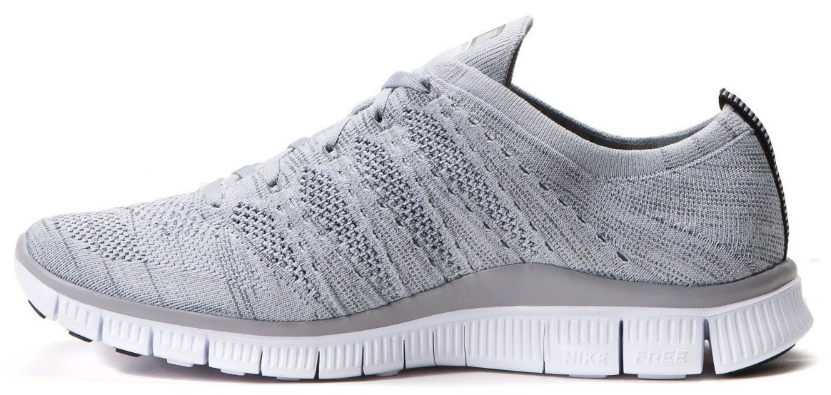e60e8f3a Мужские кроссовки Nike Free Flyknit NSW Wolf Grey (Найк Фри Ран Флайнит)  серые, цена 1 568 грн., купить Київ — Prom.ua (ID#885604082)