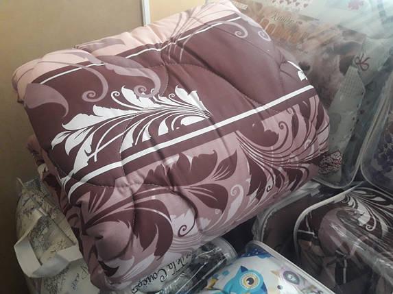 """Двуспальное шерстяное одеяло """"Кремовое"""" 172х205, фото 2"""