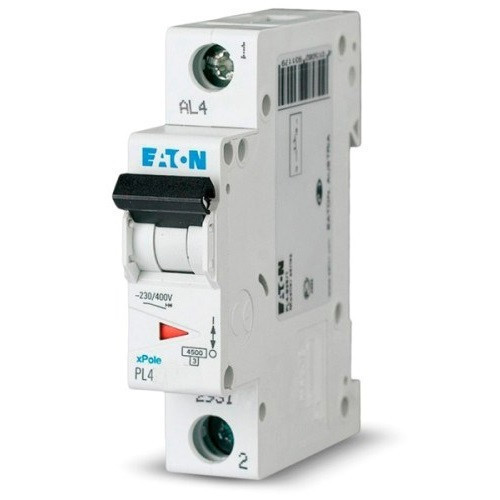 Автоматический выключатель Eaton PL4 C50/1