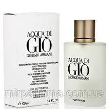 Парфюм мужской Giorgio Armani Acqua di Gio 100 ml tester