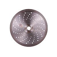 Диск алмазний відрізний DISTAR 1A1R Turbo 232x1,9x12x22,23/H Ultra Elite для болгарка (УШМ) суцільний, фото 1
