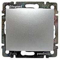 Legrand Valena Механизм выключателя 1-клавишного алюминий, 770101