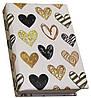 Блокнот MiniNotes со стикерами Post-it и цветными закладками, в твердой обложке «Heart»