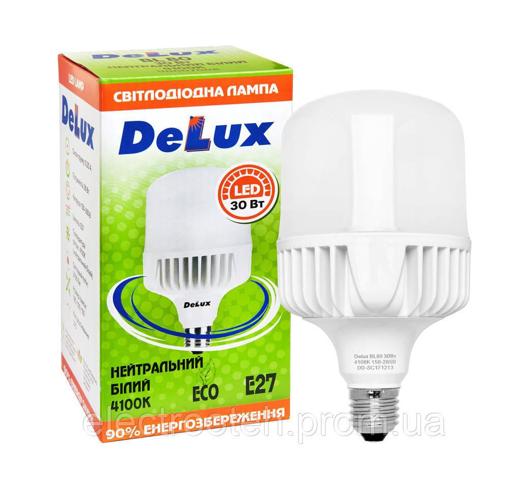 Лампа світлодіодна BL 80 30w E27 4100K