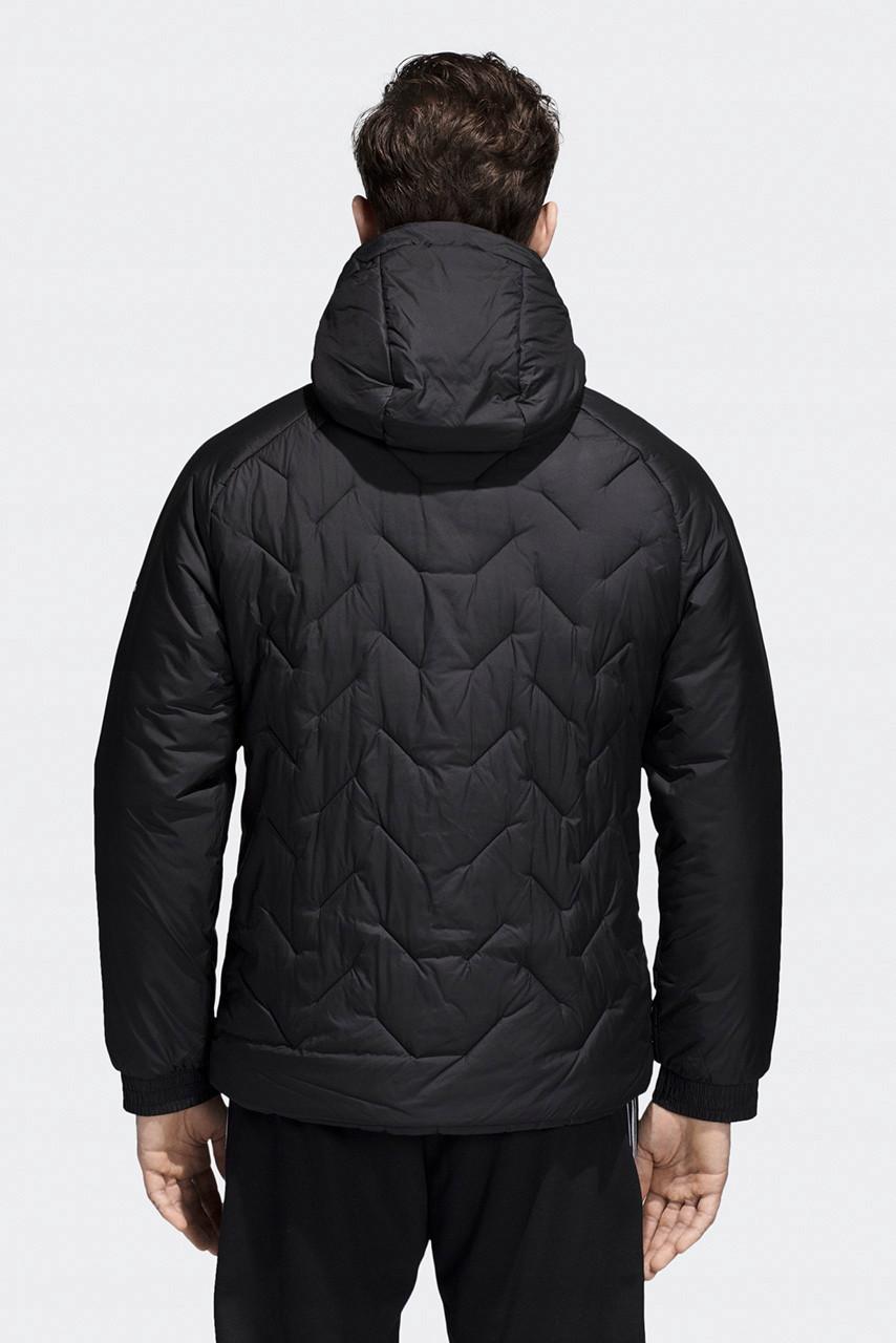 850129253faf1 Мужской зимний пуховик adidas CY9123, черный L: продажа, цена в ...