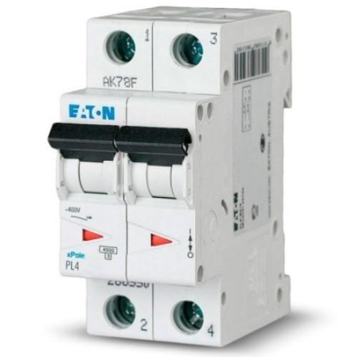 Автоматичний вимикач Eaton PL4 C6/2