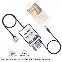 DOXINGYE USB SD AUX Car MP3Toyota (5 + 7) pin Camry Corolla Lexus RAV4 Yaris эмулятор для автомагнитолы, фото 1