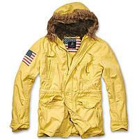 Зимняя куртка-парка USA Explorer BRANDIT желтая 7349f156ed272