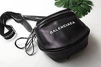 Сумка-клатч копия Balenciaga Баленсиага качественная эко-кожа цвет черный, фото 1