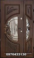 Двері вхідні патиновані