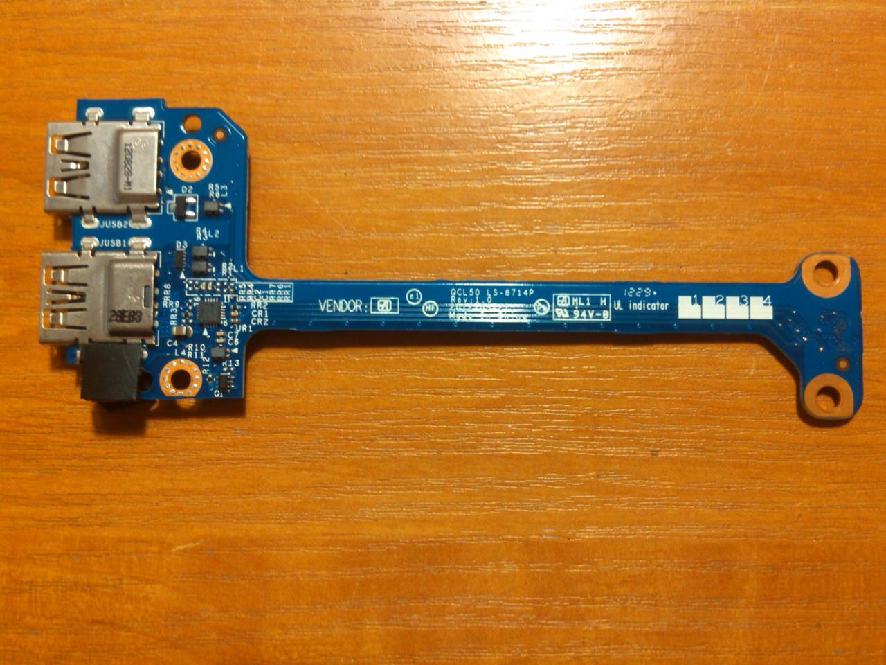HP Envy M6 QCL50 LA-8711P USB Гарантія!