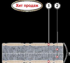 Подростковый ортопедический матрас ФАВОРИТ-БИО П   ТМ ВЕЛАМ (Украина), 70х190, фото 2