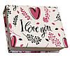 Блокнот MiniNotes зі стікерами Post-it і кольоровими закладками, у твердій обкладинці «I love you»