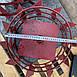 Колеса с грунтозацепами 400мм150мм с осью 23мм, фото 5