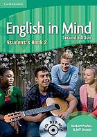 English in Mind 2 second Edition Student's Book with DVD-ROM