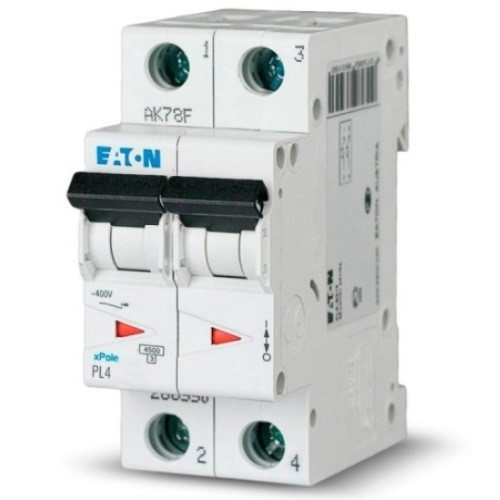Автоматичний вимикач Eaton PL4 C63/2