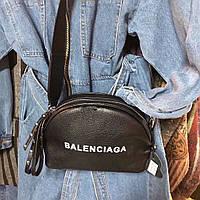 Сумка-клатч копия Balenciaga Баленсиага качественная эко-кожа черная