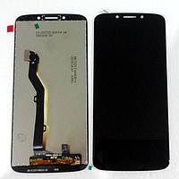 Дисплей  Motorola XT1925 Moto G6 с тачскрином (модуль), черный