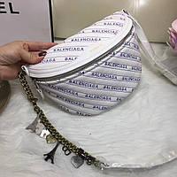 Сумка женская копия Balenciaga Баленсиага качественная эко-кожа дорогой Китай белая, фото 1