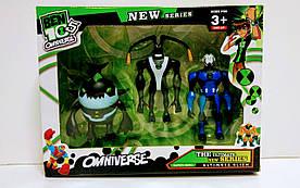 Коллекционные фигурки супергероев Бен 10 со световыми индикаторами - Superheroes, Ben 10, Omniverse, Playmates