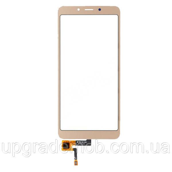 Тачскрин сенсор Xiaomi Redmi 6/Redmi 6A золотистый