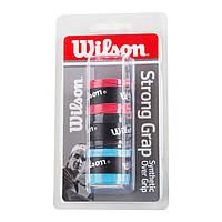 Обмотка для теннисной ракетки Wilson StrongGrip W110 ( 3 шт )