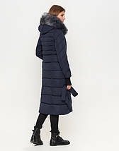 11 Киро Токао | Зимняя женская куртка 1763 синяя, фото 3