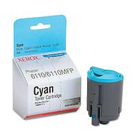Заправка картриджа Xerox 106R01206 Cyan для принтера Phaser 6110