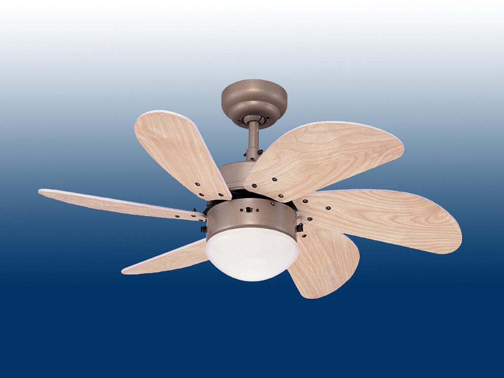 Потолочная вентиляторная люстра TURBO SWIR