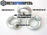 Рым-гайки нержавеющие М10 DIN582. Гайка с кольцом нержавеющая. сталь А2, А4.