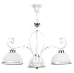 Большая класическая белая люстра WIVARA 3 EMIBIG LED