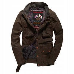 Мужская куртка SUPERDRY Endurance Wax Trials хаки, S
