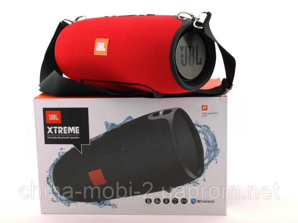 JBL XTREME SuperBass 40W A4 копия, портативная колонка с MP3, красная