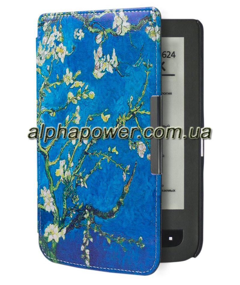 Обложка (чехол) для электронной книги PocketBook 640/641 Aqua 2 с графикой сакура