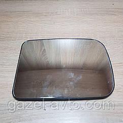 Зеркальный элемент (зеркало, вставка) Газель,Соболь, Рута, Бизнес, Валдай 3302, 2217 верхнее нового образца