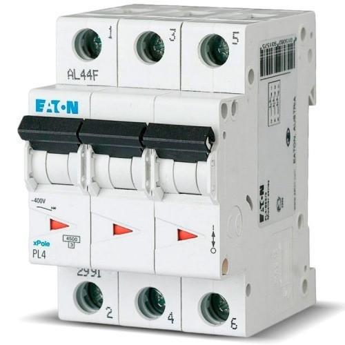 Автоматический выключатель Eaton PL4 C63/3