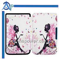 Обложка (чехол) для электронной книги PocketBook 640/641 Aqua 2 с графикой феи