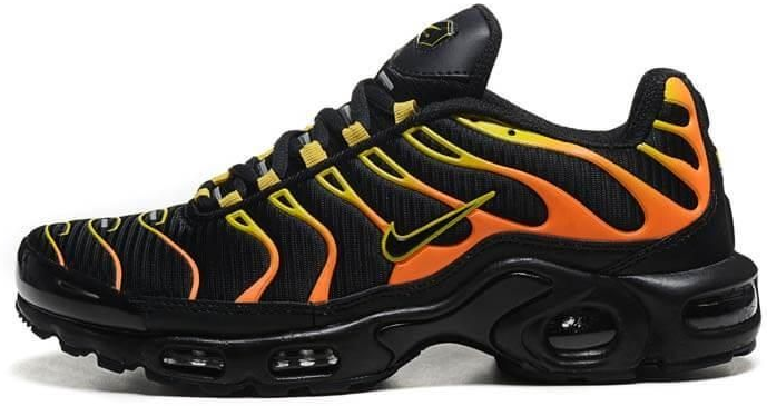 Мужские кроссовки Nike Air Max TN Plus Black Orange 2019 (в стиле Найк Аир f94ff523a0afa