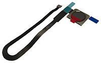 Шлейф для Huawei Mate 10 Pro (BLA-L09/BLA-L29), с сканером отпечатка пальца, серого цвета, Titan Grey