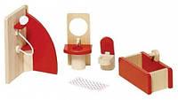 Мебель для ванной, набор для кукол, Goki (51717G)