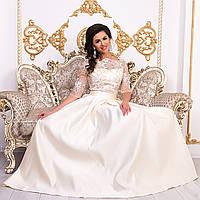 """Выпускное, вечернее, свадебное платье в пол со шлейфом """"Аркадия"""", фото 1"""