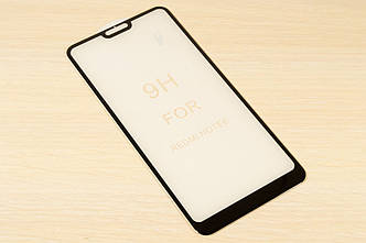 Захисне скло 5D повний клей 9H для Xiaomi Redmi Note 6
