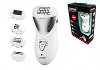 Женский эпилятор бритва Gemei GM-3061 4 в 1 | электробритва пемза