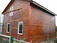 Деревянно-каркасный дом 6х7
