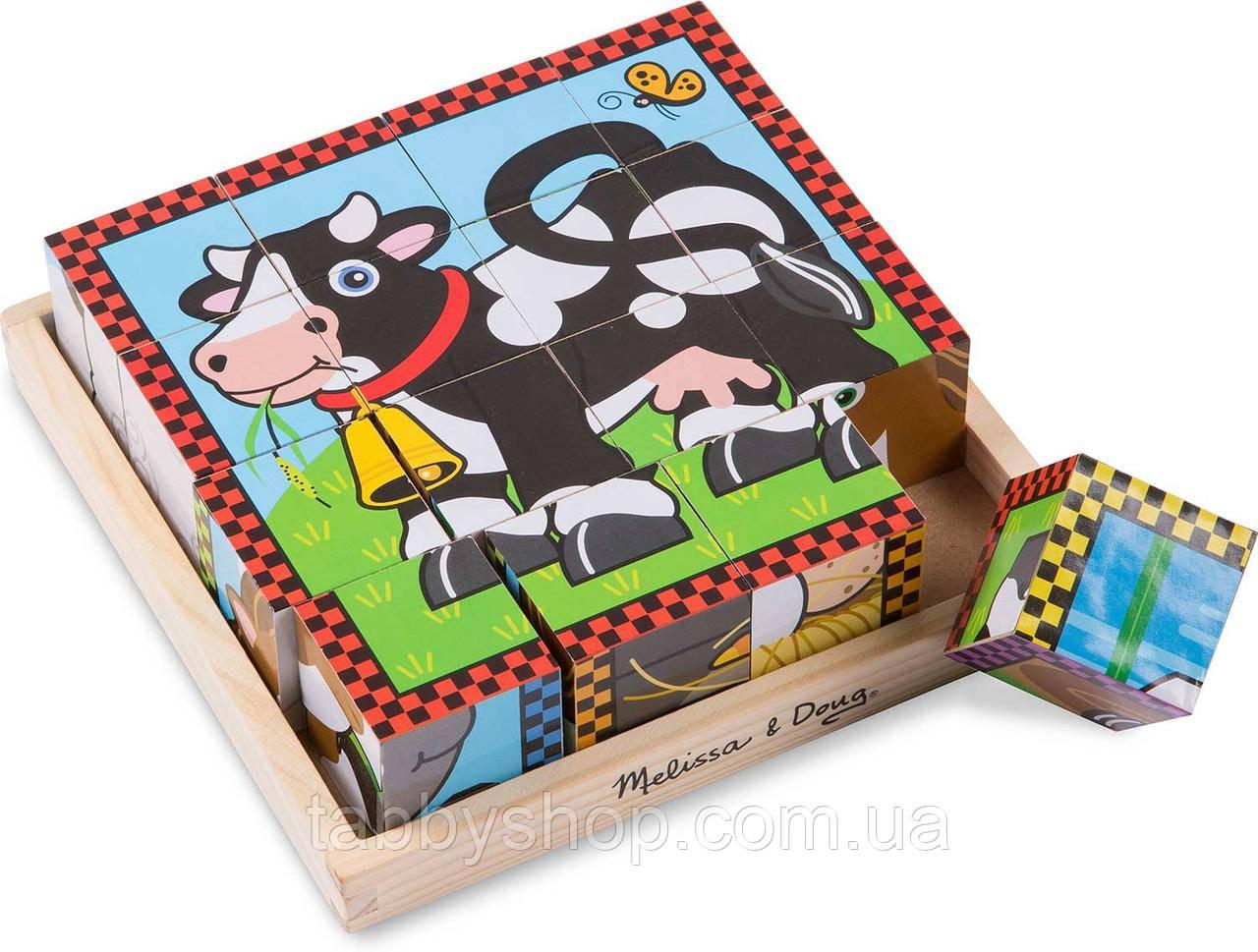 """Кубики Melissa & Doug """"Ферма"""""""