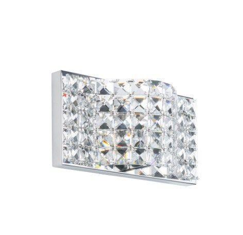 Хрустальный настенный светильник Scarve W0246-01A-B5AC итал.