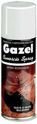 "Аэрозольная краска для замши и нубука ,зеленая ""Gazel"" 200ml"